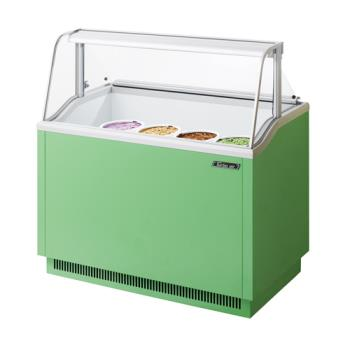 TURTIDC47G - Turbo Air - TIDC-47G - 47 in Green Ice Cream Dipping Cabinet Product Image