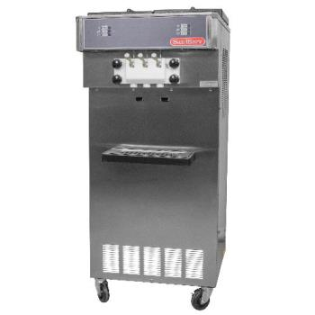 SNS521 - SaniServ - 521 - Floor Model High Volume 34 Qt Twist Soft Serve Machine Product Image