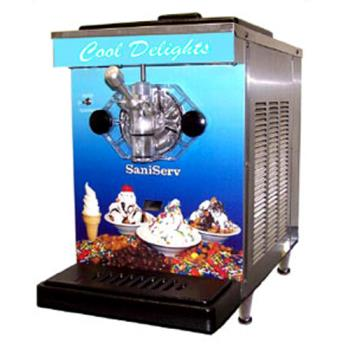 SNSDF200 - SaniServ - DF200 - Countertop Low Volume 7 qt Soft Serve Machine Product Image