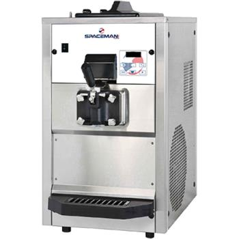 SPA6228AH - Spaceman - 6228AH - Countertop Medium Volume 6 Qt Soft Serve Machine Product Image