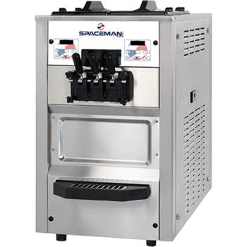 SPA6235AH - Spaceman - 6235AH - Countertop Medium Volume 6 Qt Soft Serve Machine Product Image
