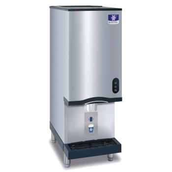 MANCNF0202A - Manitowoc - CNF0202A-161 - 315lb Air Cooled Countertop Nugget Ice Machine and Dispenser Product Image