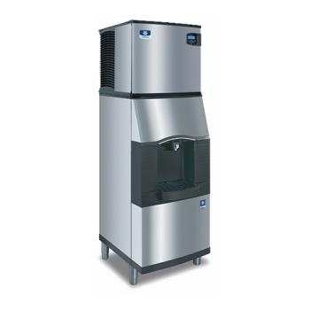 MANIY0324ASPA160 - Manitowoc - IY-0324A/SPA160 - Indigo™ Air Cooled 350 lb. Ice Machine w/ 118 Lb Dispenser Product Image