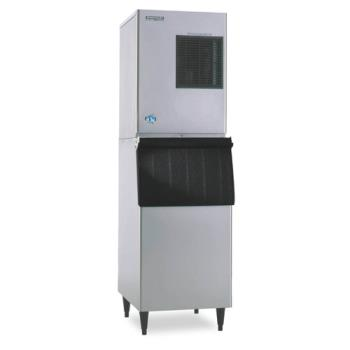 HOHKM320MAHB300SF - Hoshizaki - KM-320MAH/B-300SF - Air Cooled 278 Lb Modular Ice Machine w/ 260 Lb Bin Product Image