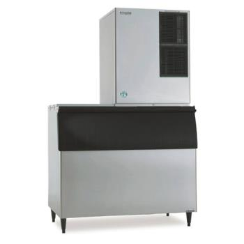 HOHKM901MAHB900SF - Hoshizaki - KM-901MAH/B-900SF - Air Cooled 732 Lb Modular Ice Machine w/ Bin Product Image