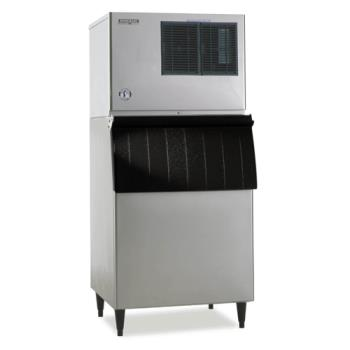 HOHKML451MAHB500SF - Hoshizaki - KML-451MAH/B-500SF - Air Cooled 349 Lb Low Profile Ice Machine w/ 360 Lb Bin Product Image