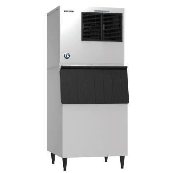 HOHKML500MAJB500SF - Hoshizaki - KML-500MAJ/B-500SF - 442 lb Air Cooled Crescent Ice Machine w/ Bin Product Image