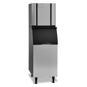 ICECIM0320HAB42PS - Ice-O-Matic - CIM0320HAB42PS - 313 lb Air Cooled Half Cube Ice Machine w/ Bin Product Image