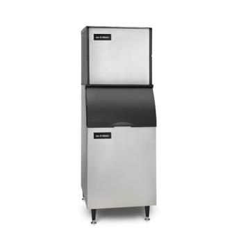 ICEICE0320HAB42PS - Ice-O-Matic - ICE0320HAB42PS - Ice Series™ Air Cooled 334 Lb Half Cube Ice Machine w/ 351 Lb Bin Product Image