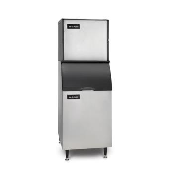 ICEICE0406FAB55PS - Ice-O-Matic - ICE0406FA/B55PS - Ice Series™ Air Cooled 529 Lb Full Cube Ice Machine w/ 510 Lb Bin Product Image