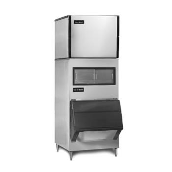 ICEICE0856GAB160060 - Ice-O-Matic - ICE0856GAB160060 - 875 Lb Grande Cube Ice Machine with Bin Product Image
