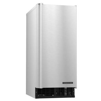 HOHAM50BAJ - Hoshizaki - AM-50BAJ - 51 lb Air Cooled Undercounter Top Hat Cube Ice Machine Product Image