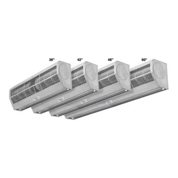 "CURAP2361SS - Curtron - AP-2-36-1-SS - Air-Pro™ 36"" Low-Profile Commercial Air Door Product Image"