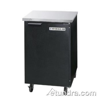 BEVBB241S - Beverage Air - BB24-1-S - 24 in Stainless Finish Back Bar Refrigerator Product Image