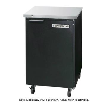 BEVBB24HC1S - Beverage Air - BB24HC-1-S - 24 in S/S Back Bar Refrigerator Product Image