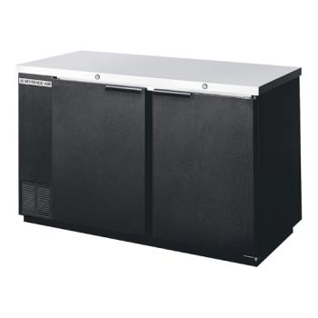 BEVBB581B - Beverage Air - BB58-1-B - 59 in Solid Door Back Bar Cooler Product Image