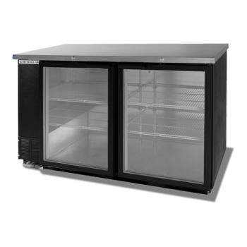 BEVBB58G1B - Beverage Air - BB58G-1-B - 59 in Glass Door Back Bar Cooler Product Image