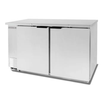 BEVBB58HC1S - Beverage Air - BB58HC-1-S - 59 in S/S Solid Door Back Bar Cooler Product Image