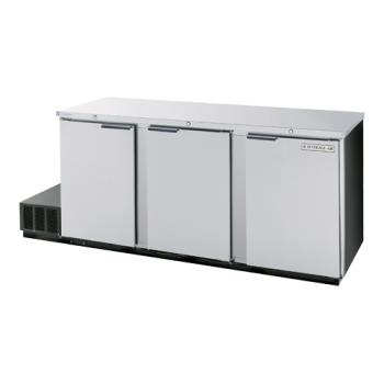 BEVBB78HC1S - Beverage Air - BB78HC-1-S - 79 in S/S Solid Door Back Bar Cooler Product Image