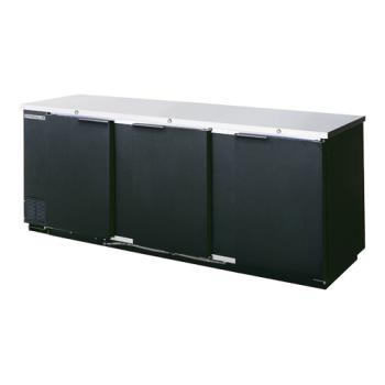 BEVBB941B - Beverage Air - BB94-1-B - 95 in Solid Door Back Bar Cooler Product Image