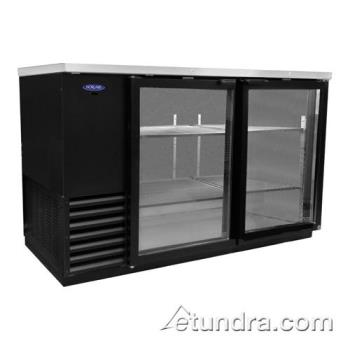 NORNLBB59G - Nor-Lake - NLBB59-G - AdvantEDGE 59 in Glass Door Back Bar Cooler Product Image
