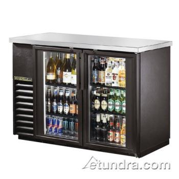 TRUTBB2448G - True - TBB-24-48G-LD - 49 in Back Bar Cooler w/ 2 Glass Doors Product Image