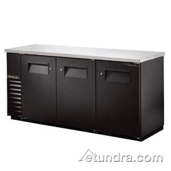 "TRUTBB2472 - True - TBB-24-72 - 73"" Back Bar Cooler w/ 3 Solid Doors Product Image"