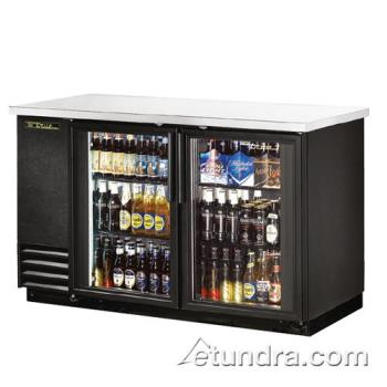 TRUTBB2G - True - TBB-2G-LD - 59 in Back Bar Cooler w/ 2 Glass Doors Product Image