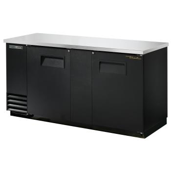 TRUTBB3HC - True - TBB-3-HC - 69 in Back Bar Cooler w/ 2 Solid Swing Doors Product Image