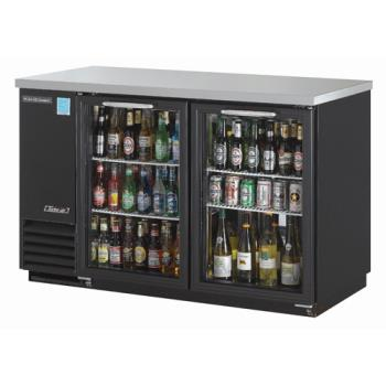 TURTBB2SG - Turbo Air - TBB-2SG - 59 in Back Bar Cooler w/2 Glass Doors Product Image