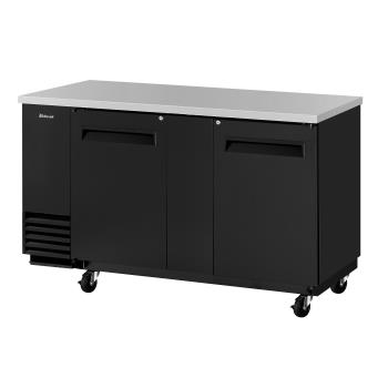 TURTBB3SBN6 - Turbo Air - TBB-3SB-N6 - 69 in Back Bar Cooler w/ 2 Solid Doors Product Image