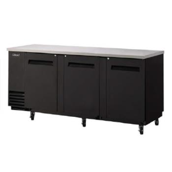 TURTBB4SB - Turbo Air - TBB-4SB - 90 in Back Bar Cooler w/3 Solid Doors Product Image