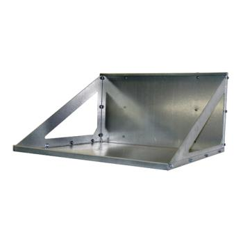 GLTLCRS - Glastender - LCR-S - Stainless BLC-1/3, 1/2, 3/4 Line Chiller Wall Rack Product Image