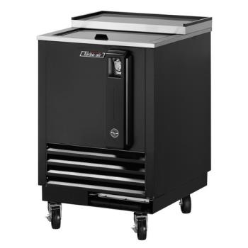 TURTBC24SB - Turbo Air - TBC-24SB - 24 in Black Bottle Cooler Product Image