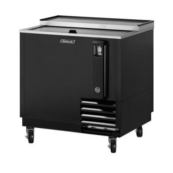 TURTBC36SB - Turbo Air - TBC-36SB - 36 in Black Bottle Cooler Product Image