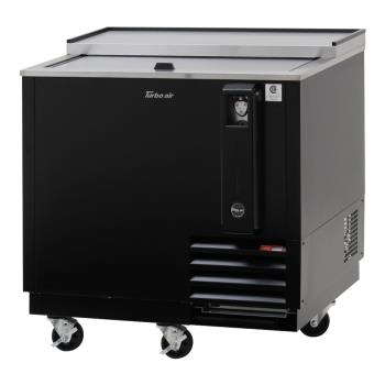 TURTBC36SBN6 - Turbo Air - TBC-36SB-N6 - 36 in Black Bottle Cooler Product Image