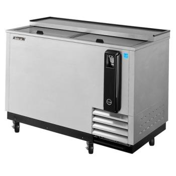 TURTBC50SD - Turbo Air - TBC-50SD - 50 in Stainless Steel Bottle Cooler Product Image