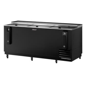 TURTBC80SB - Turbo Air - TBC-80SB - 80 in Black Bottle Cooler Product Image