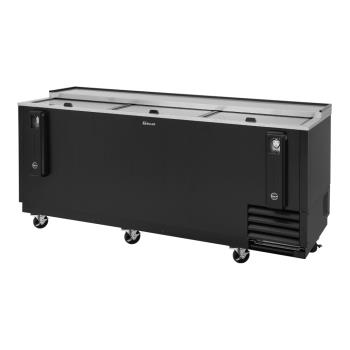 TURTBC80SBN - Turbo Air - TBC-80SB-N - 80 in Black Bottle Cooler Product Image