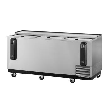 TURTBC80SDN - Turbo Air - TBC-80SD-N - 80 in Stainless Steel Bottle Cooler Product Image