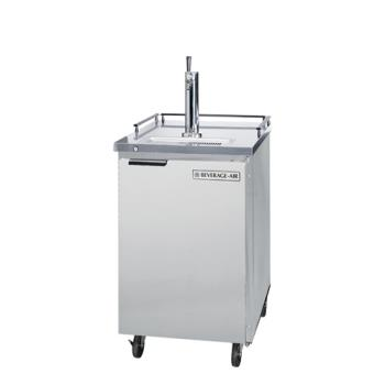 BEVBM23CS - Beverage Air - BM23C-S - 24 in Stainless Steel Club Top Draft Beer Dispenser Product Image