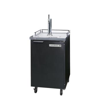 BEVBM23HCB - Beverage Air - BM23HC-B - 24 in Black Draft Beer Dispenser Product Image