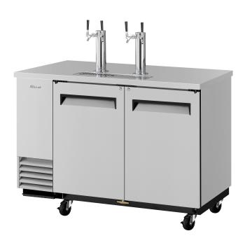 TURTBD2SDN6 - Turbo Air - TBD-2SD-N6 - 59 in Stainless Steel Draft Beer Dispenser Product Image