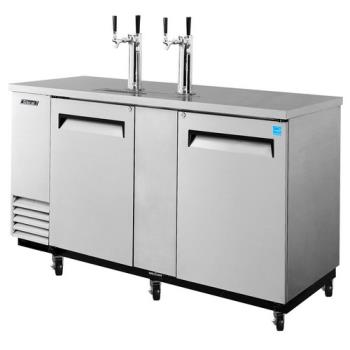 TURTBD3SD - Turbo Air - TBD-3SD - 69 in Stainless Steel Draft Beer Dispenser Product Image