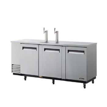 TURTBD4SD - Turbo Air - TBD-4SD - 90 in Stainless Draft Beer Dispenser Product Image