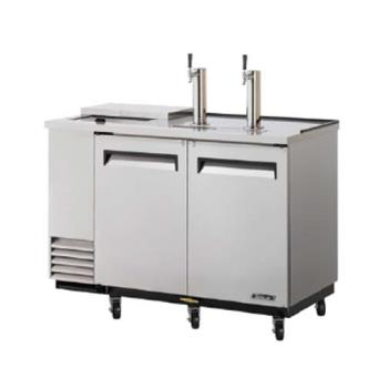 TURTCB2SD - Turbo Air - TCB-2SD - 59 in Stainless Club Top Beer Dispenser Product Image