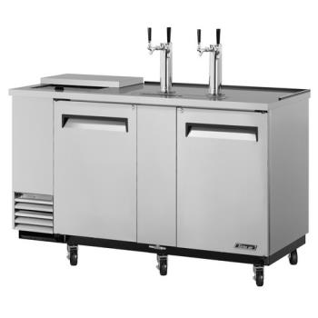 TURTCB3SD - Turbo Air - TCB-3SD - 69 in Stainless Club Top Beer Dispenser Product Image