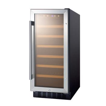 SUMSWC1535 - Summit - SWC1535B - Undercounter Built In Wine Cooler Product Image