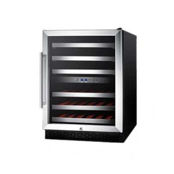 SUMSWC530LBIST - Summit - SWC530LBIST - Undercounter Dual Zone Wine Cellar Product Image