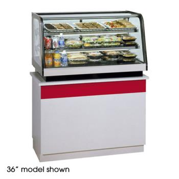 "FEDCRR4828 - Federal - CRR4828 - 48"" Countertop Refrigerated Rear Mount Merchandiser Product Image"